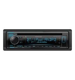 kenwood kdc bt340u single din in dash am fm cd receiver with bluetooth siriusxm ready walmart com [ 1500 x 1500 Pixel ]