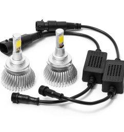 biltek led low beam conversion bulbs for 1995 1997 cadillac deville 9006 bulbs walmart com [ 1024 x 1024 Pixel ]