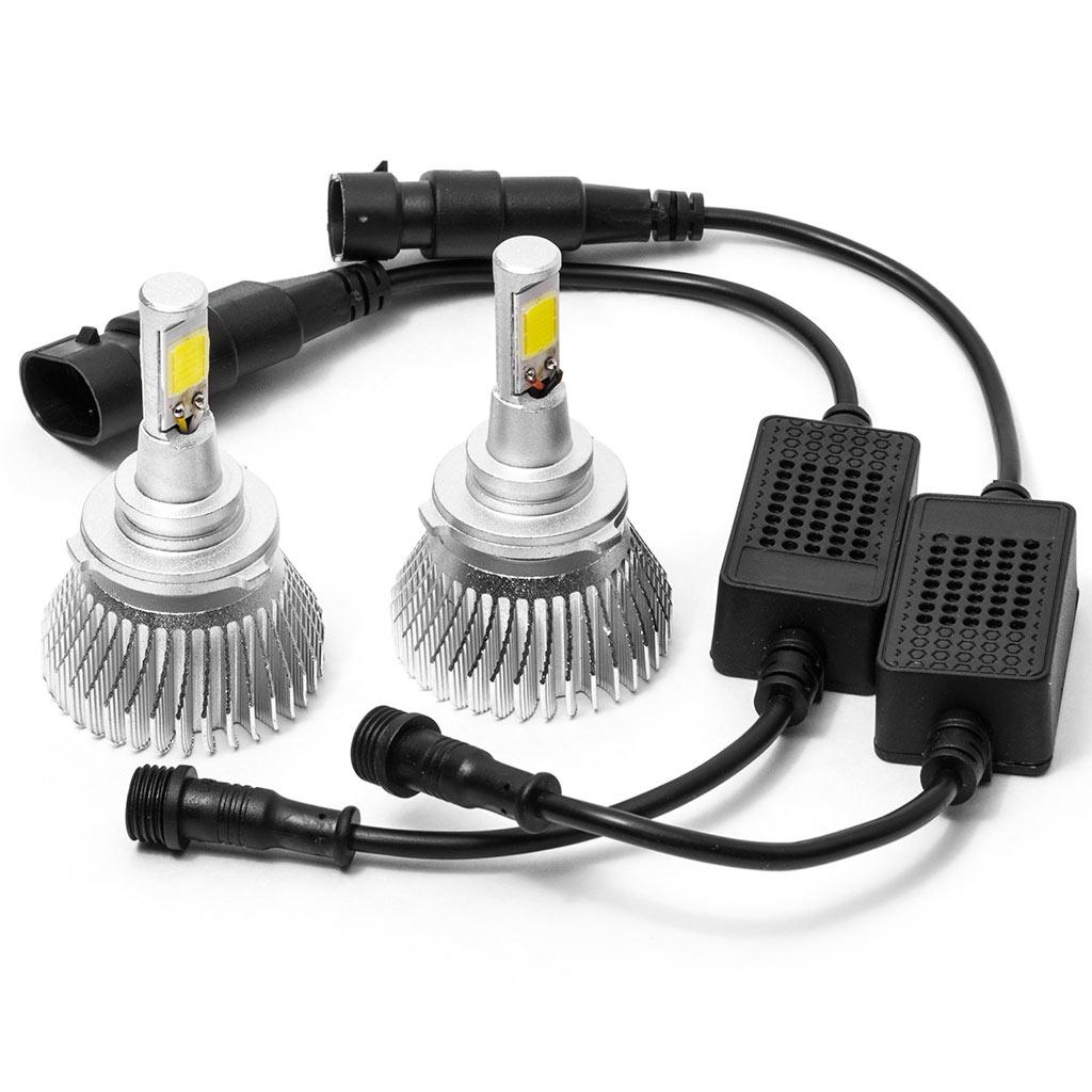 hight resolution of biltek led low beam conversion bulbs for 1995 1997 cadillac deville 9006 bulbs walmart com