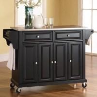 Kitchen Utility Cart, Solid Beechwood - Walmart.com
