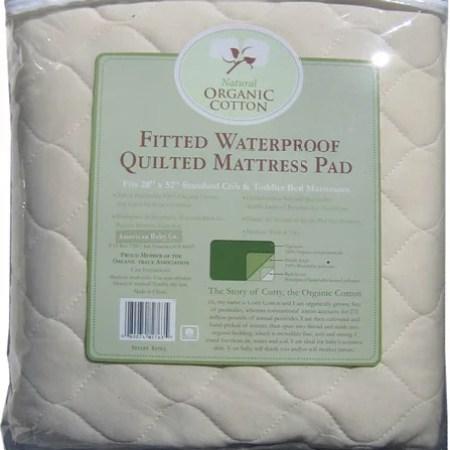 Abc Organic Waterproof Mattress Pad Crib