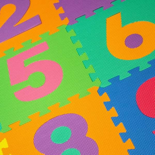 Alphabet Number Foam Puzzle Floor Mat