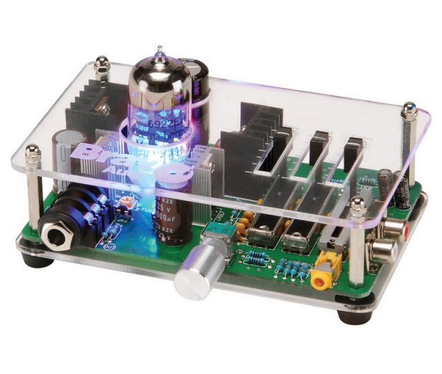 Bravo Audio V3 Mini Valve Class A Tube Headphone Amplifier With Eq Walmart Com