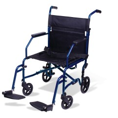 Carex Transport Chair Top Grain Leather Club Recliner Wheelchair 19 Inch Seat Folding With Foot Rests Walmart Com