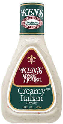 Kens Steakhouse Dressing Creamy Italian 16 Fl Oz