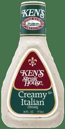 Kens Steakhouse Dressing Creamy Italian 16 Fl Oz