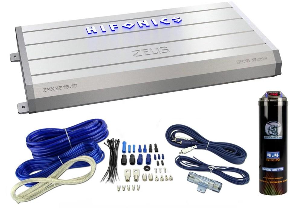 medium resolution of hifonics zeus zrx3216 1d 3200w rms amp class d amplifier wiring capacitor walmart com