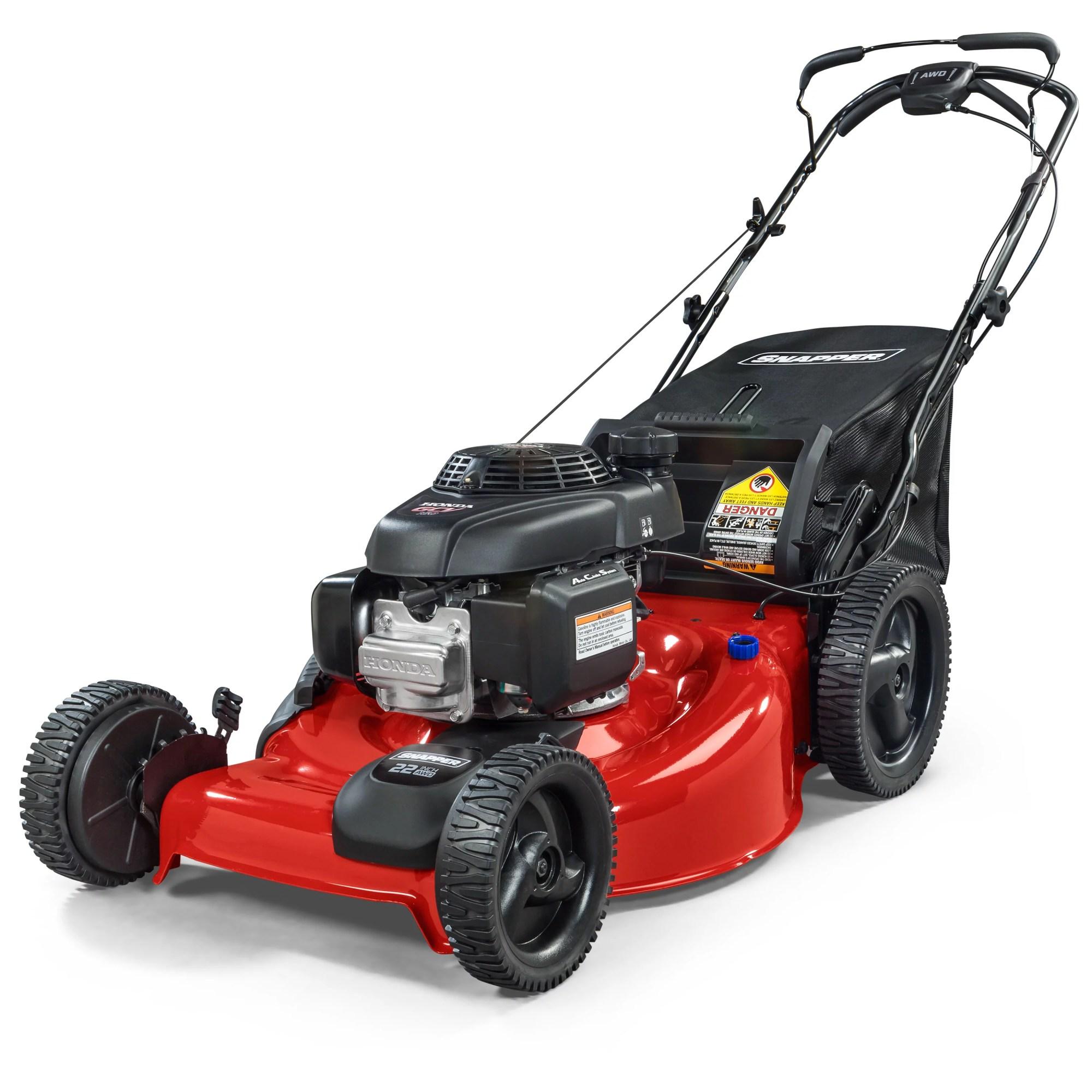 hight resolution of honda gcv 160cc all wheel drive lawnmower walmart com