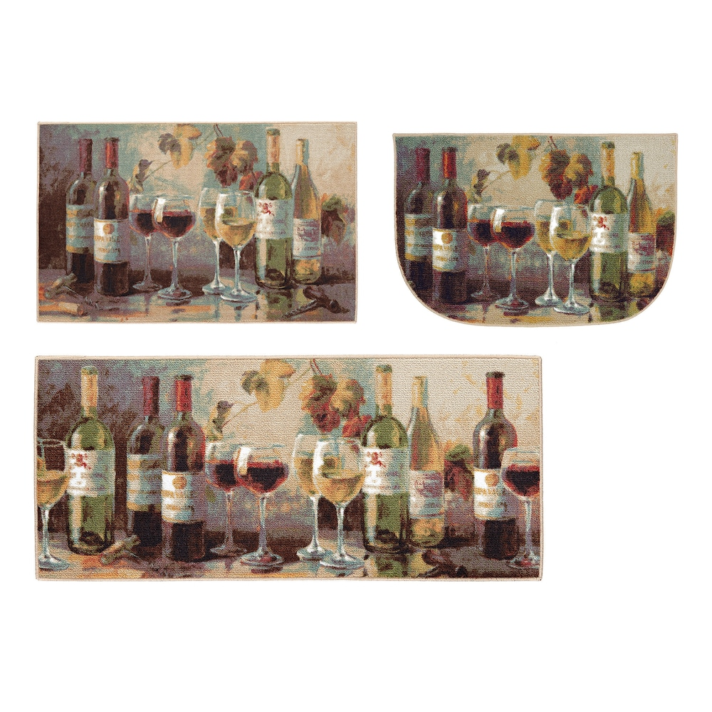 wine kitchen rugs outside plans mohawk home opening the rug walmart com