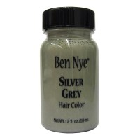 Ben Nye Silver Grey Liquid Hair Color 2 oz