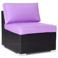 7PCS Rattan Wicker Patio Sofa Set Outdoor Sectional ...