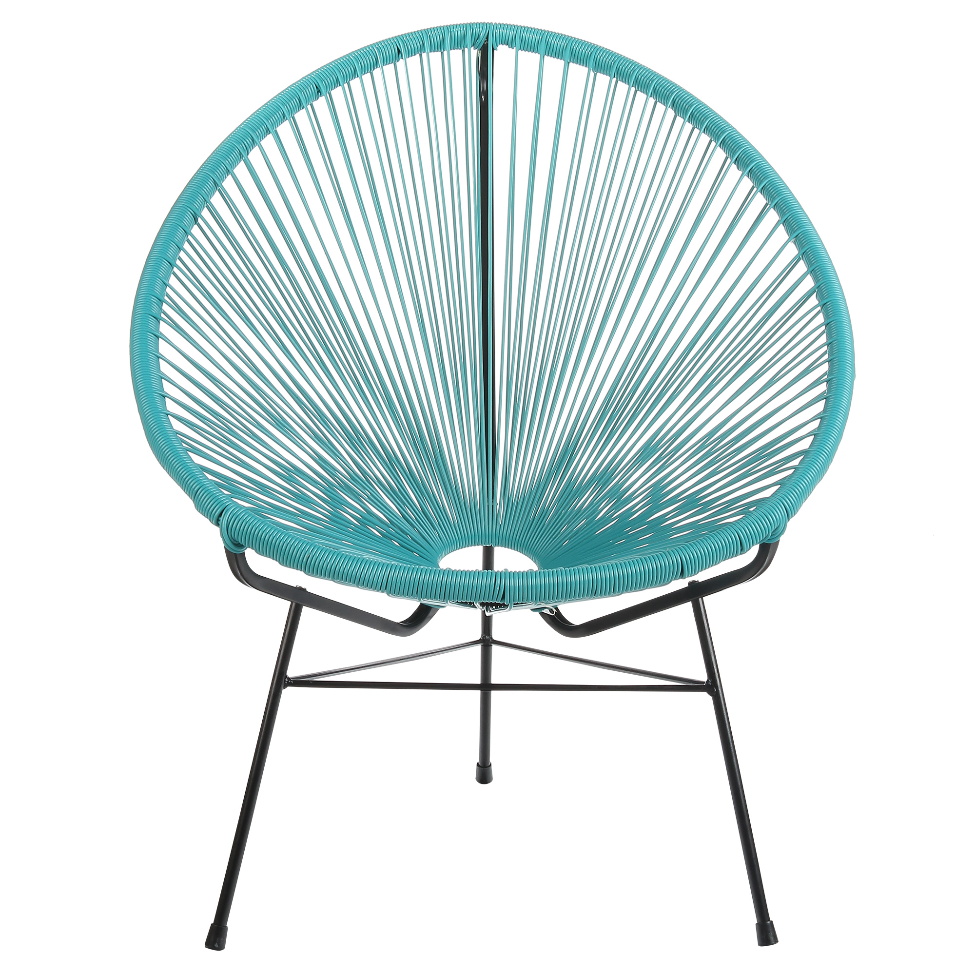Acapulco Lounge Chair Acapulco Outdoor Lounge Chair Blue Cord Walmart