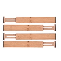 Bamboo Drawer Divider Adjuseconomic Table & Expendable ...