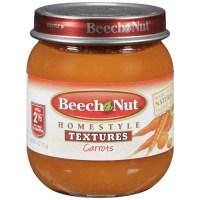 Beech Nut Carrots Baby Food, 4 oz - Walmart.com