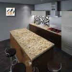 Instant Granite Venetian Gold Santa Cecilia Countertop Film Walmart Com Walmart Com