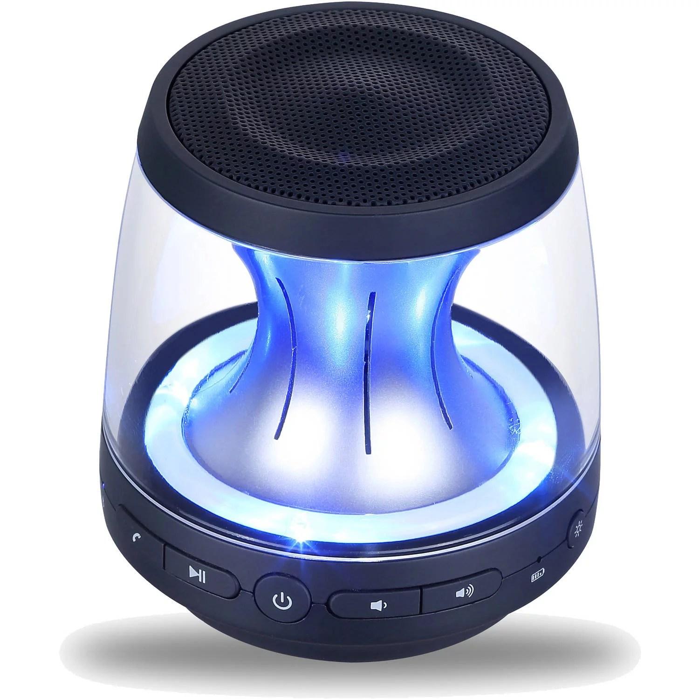 Wireless Black Bluetooth Speaker  Rechargeable Portable