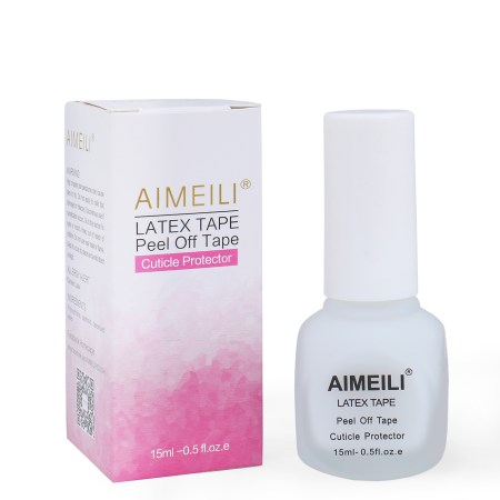 Aimeili Liquid Latex L Off Tape Cuticle Guard Polish Barrier Skin Protector For Nail Art 15
