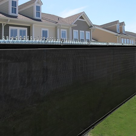Image Result For How To Install Mesh Pool Fence