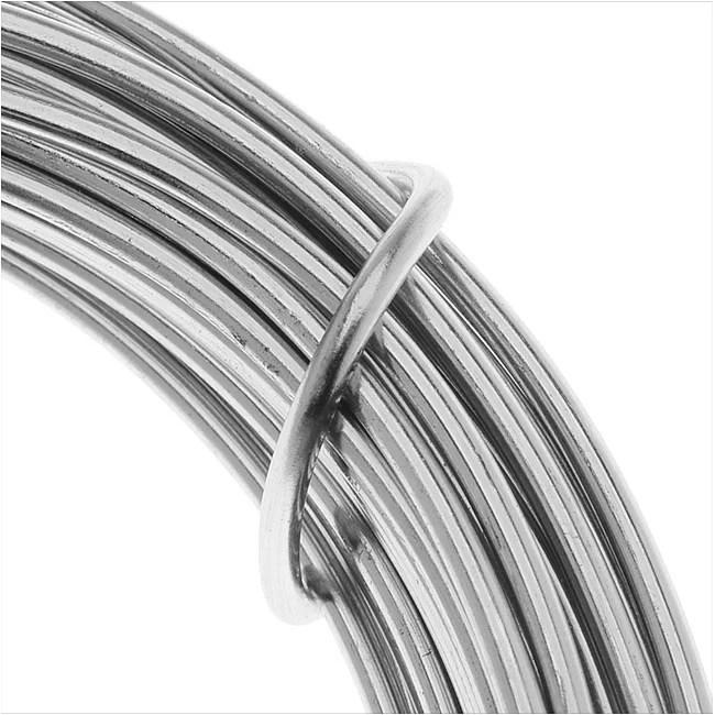 Artistic Wire Aluminum Craft Wire 12 Gauge Thick 12 Meter Spool Natural Aluminum Walmart Com Walmart Com