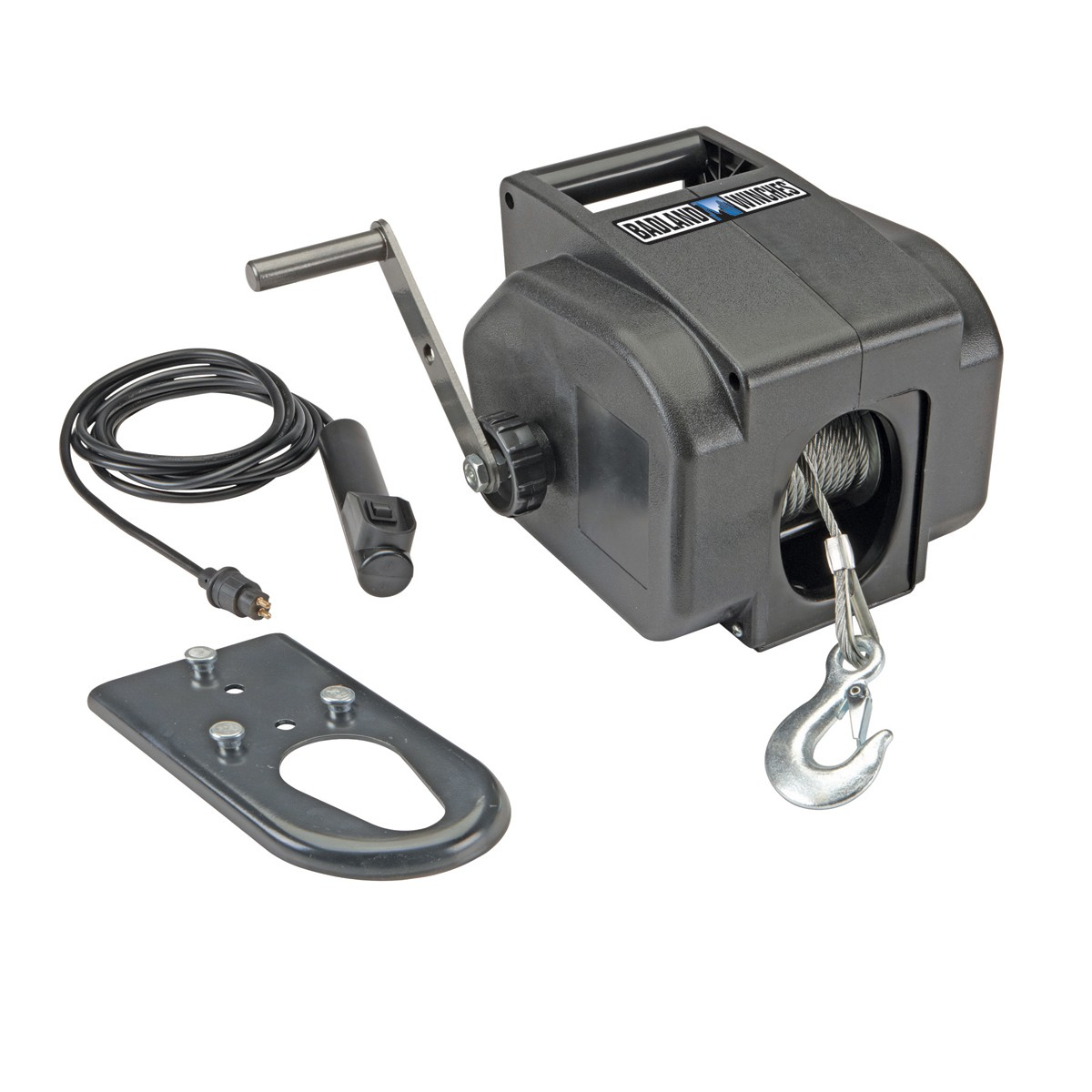 badland marine electric winch 2000 lb towing cable 30 ft aircraft badlands 2000 lb winch wiring diagram badlands 2000 lb winch wiring [ 1200 x 1200 Pixel ]