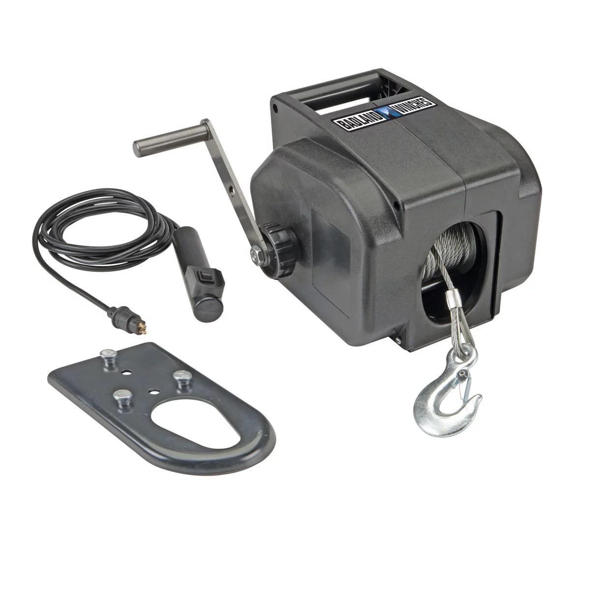 medium resolution of badland marine electric winch 2000 lb towing cable 30 ft aircraft badlands 2000 lb winch wiring diagram badlands 2000 lb winch wiring