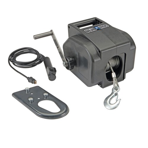 small resolution of badland marine electric winch 2000 lb towing cable 30 ft aircraft rh walmart com atv winch wiring diagram winch solenoid wiring diagram