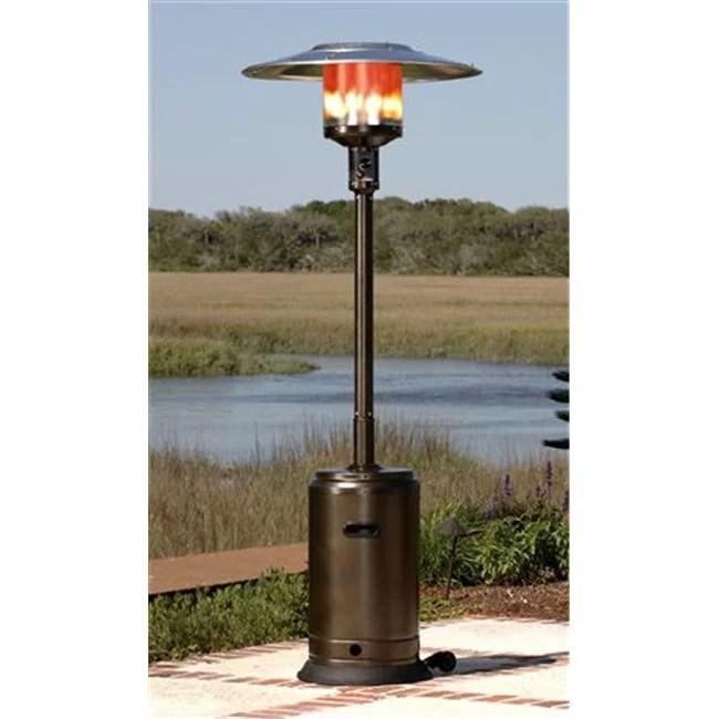 well traveled living 60485 hammer tone bronze commercial patio heater walmart com