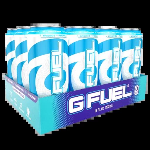 (12 Cans) G Fuel Blue Ice Sugar Free Energy Drink 16 fl ...