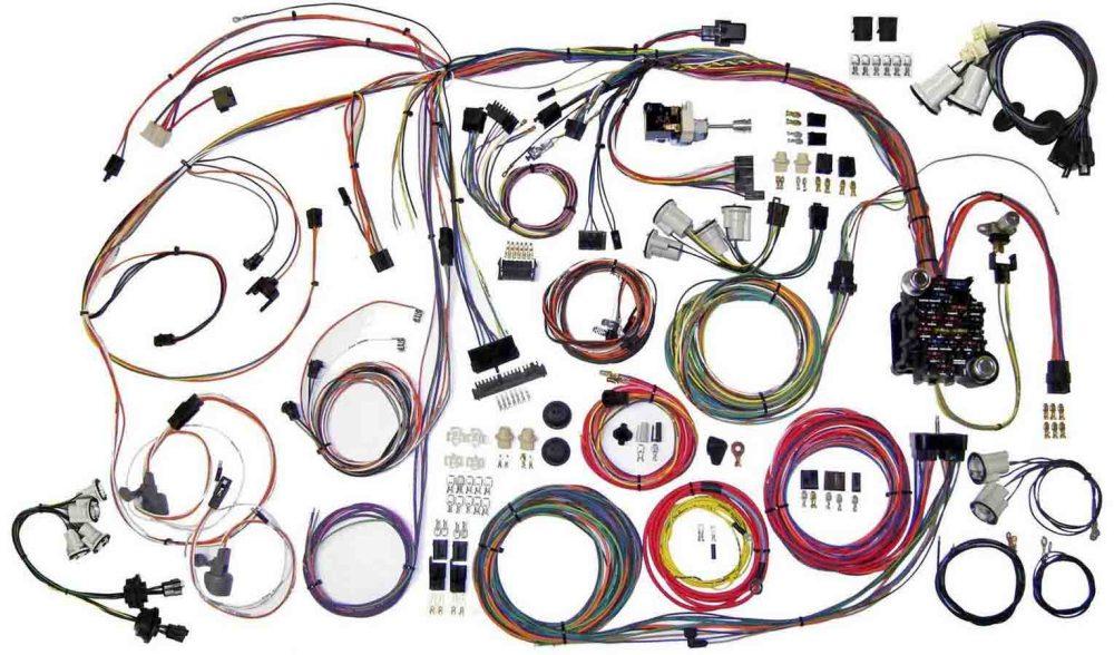 medium resolution of american autowire wiring system monte carlo 1970 72 kit p n 510336 walmart com