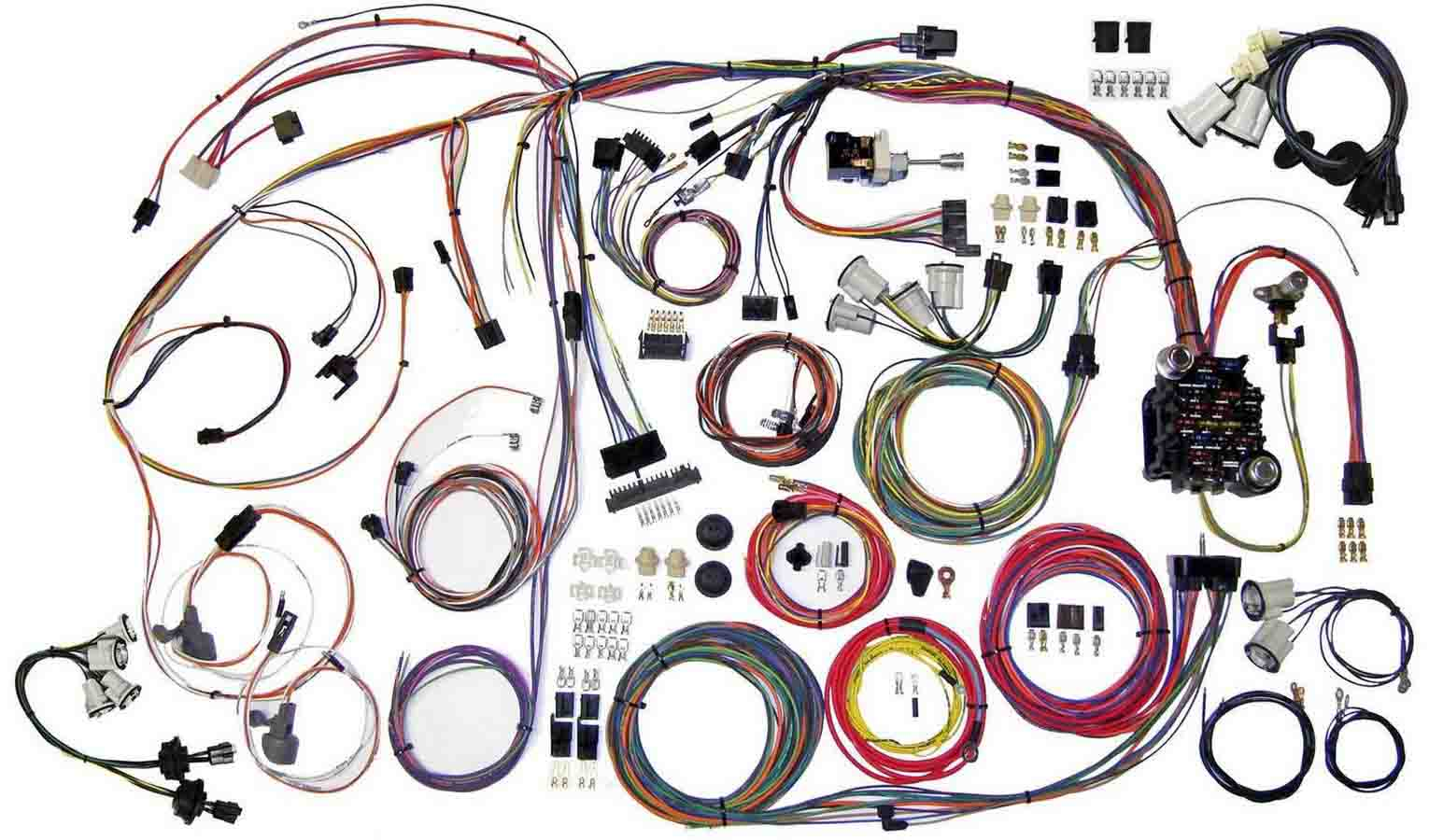 hight resolution of american autowire wiring system monte carlo 1970 72 kit p n 510336 walmart com