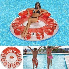Inflatable Water Chairs For Adults The Sofa And Chair Company Center Floating Island Swimming Pool Floats Toys Party Lounger