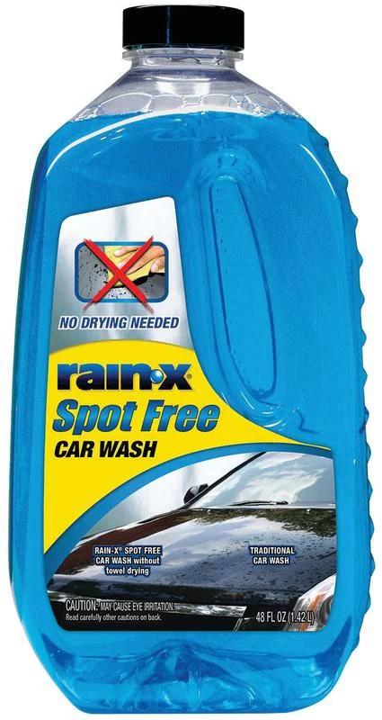 rain x spot free