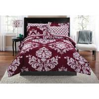 Mainstays Classic Noir Twin/Twin-XL Bed in a Bag ...