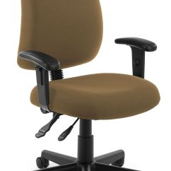 Ofm Posture Task Chair Old Office Chairs Series Model 118 2 Aa Swivel With