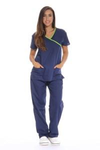 Just Love Women's Scrub Sets / Medical Scrubs (Mock Wrap ...