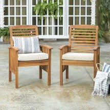 manor park outdoor wood patio chairs