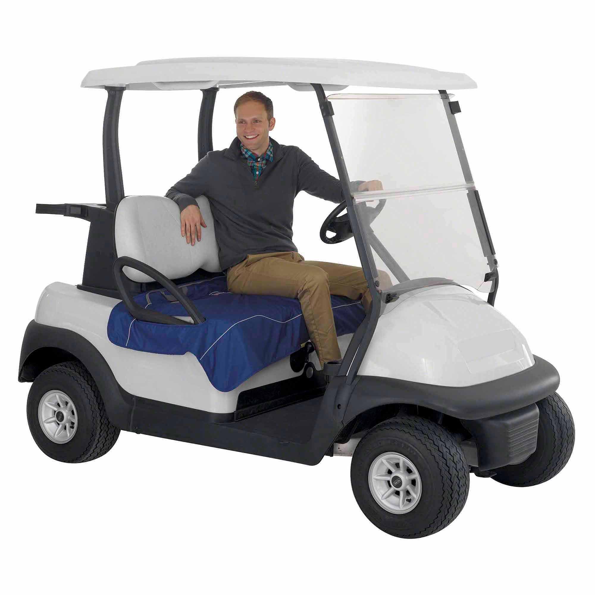 hight resolution of classic accessories fairway golf cart seat blanket 32 x 54 walmart com