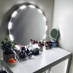 Lighted Mirror Led Light For Cosmetic Makeup Vanity Mirror Kit Walmart Com Walmart Com