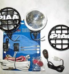 jeep wrangler piaa 510 side mirror driving lights windshield pillar auxiliary lamps walmart com [ 1500 x 1125 Pixel ]
