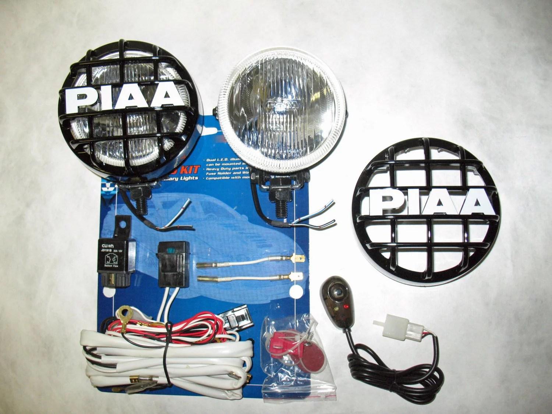 hight resolution of jeep wrangler piaa 510 side mirror driving lights windshield pillar auxiliary lamps walmart com