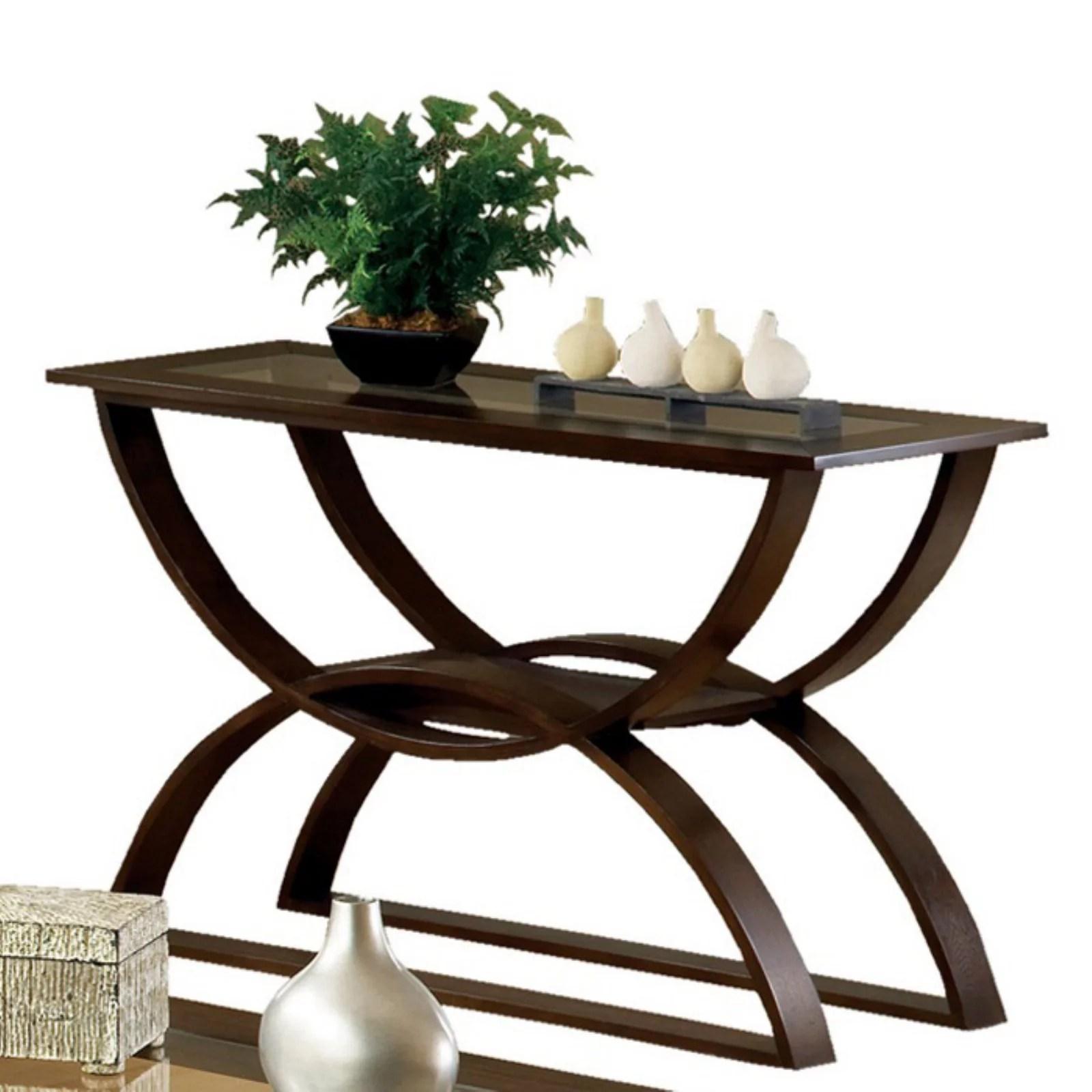 steve silver dylan sofa table 2 seat protector terracotta cherry walmart com