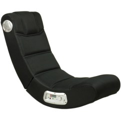 Impact X Rocker Chair Cheap Black Covers For Sale Video Mesh Sound Gaming 51056
