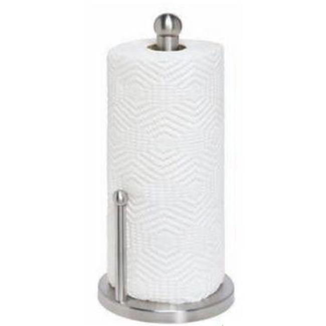 international satin finish stainless steel paper towel holder