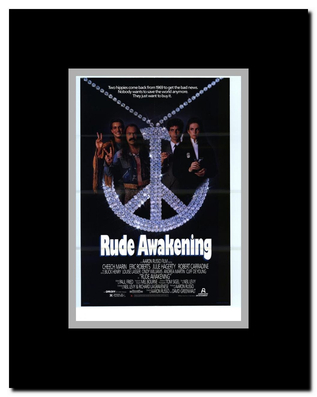 rude awakening framed movie