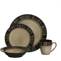 Hometrends Fullerton 16-Piece Dinnerware Set - Walmart.com