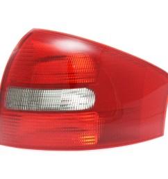 b new tail light assembly passenger side fits 1998 2001 audi a6 sedan au2819109 4b5945096a b walmart com [ 1200 x 1200 Pixel ]