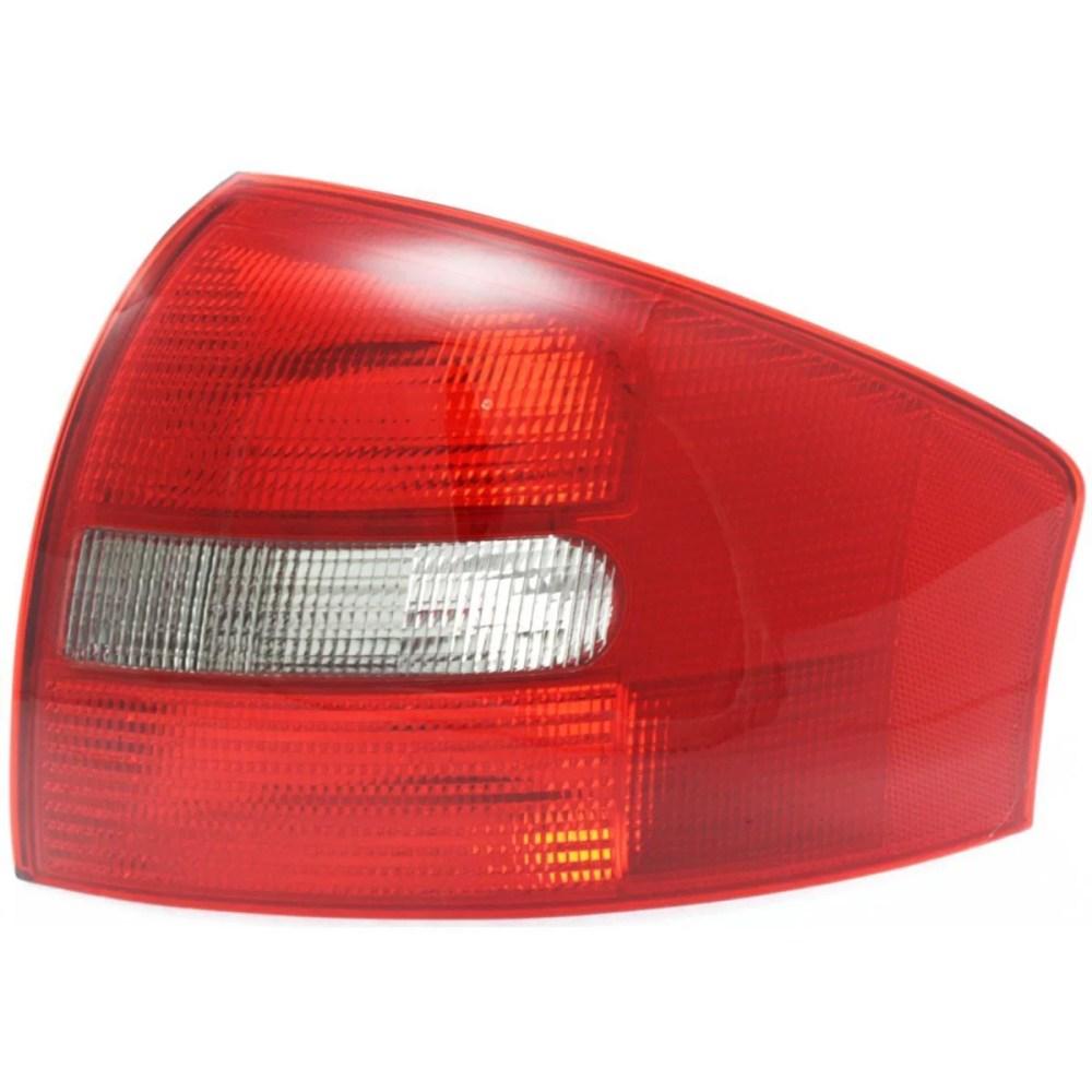 medium resolution of  b new tail light assembly passenger side fits 1998 2001 audi a6 sedan au2819109 4b5945096a b walmart com