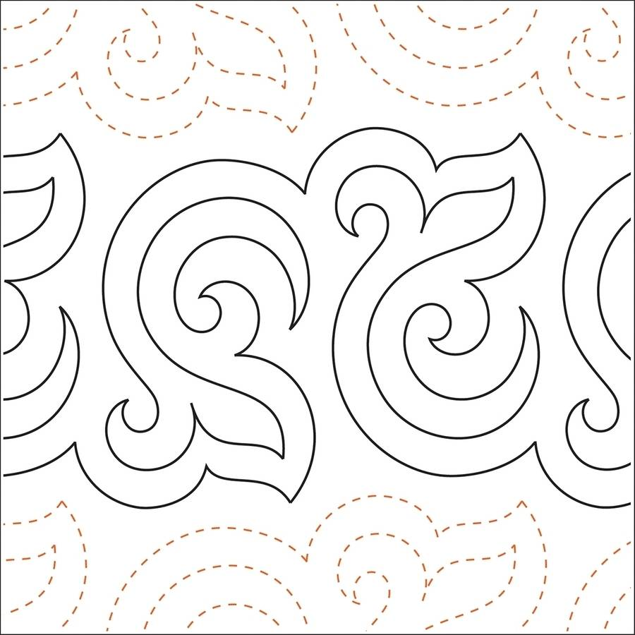 Quilting Creations Printed Tear Away Quilting Paper