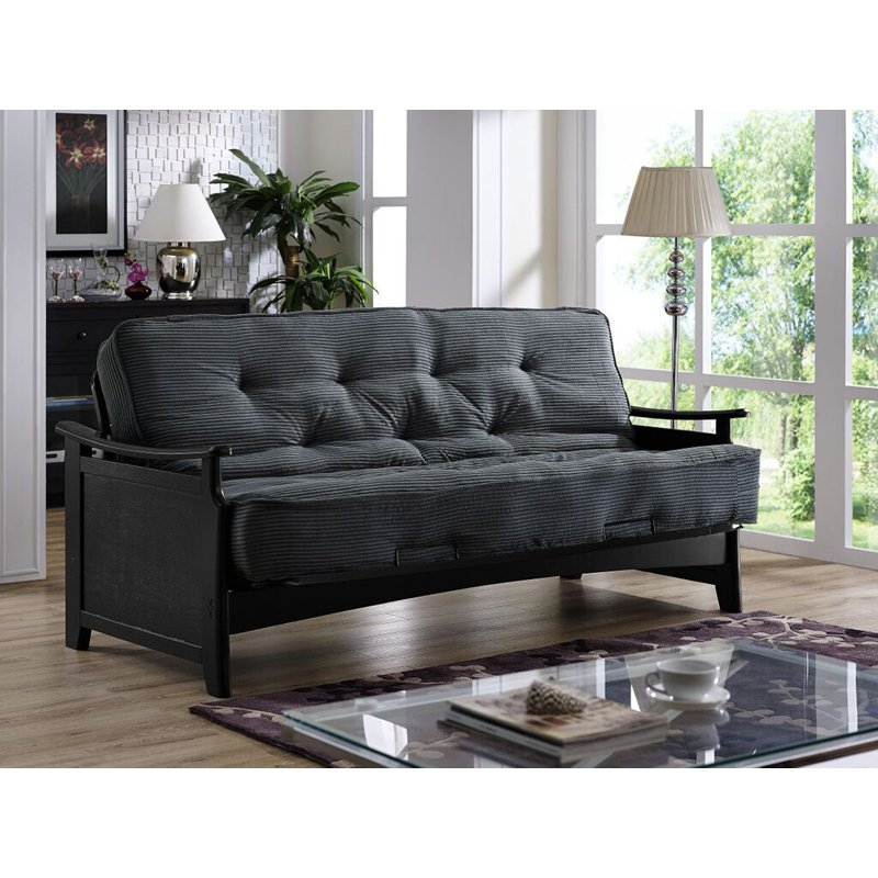 Simmons San Diego Futon Frame with 8 in Beautyrest