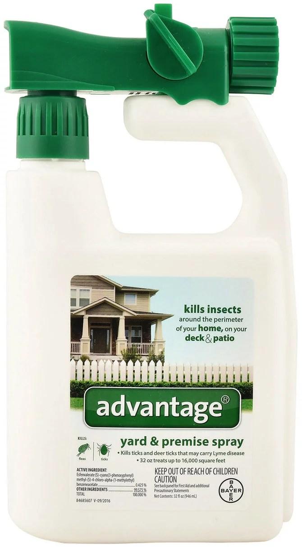 Advantage Yard & Premise Spray 32 oz - Walmart.com ...